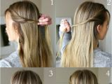 Quick Cute Ponytail Hairstyles Best 25 Quick Work Hairstyles Ideas On Pinterest