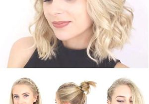 Quick Easy and Cute Hairstyles for School Super Quick and Easy Short Hairstyles for School Date or Work