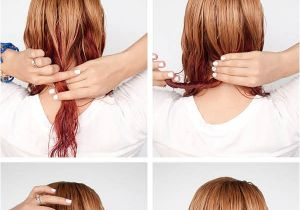 Quick Easy Hairstyles for Wet Hair Get Ready Fast with 7 Easy Hairstyle Tutorials for Wet
