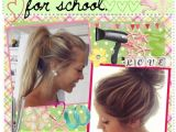 Quick Easy Pretty Hairstyles for School 23 Beautiful Hairstyles for School