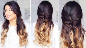 Quick Hairstyles Hair Down Cute Half Up Half Down Hairstyle – Luxy Hair