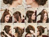 Quince Hairstyles Curly Hair with Crown How to Make A Fancy Bun Diy Hairstyle