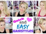 Really Quick and Easy Hairstyles Quick and Easy Hairstyles for Summer