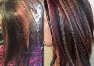 Red Black and Blonde Hairstyles Cute Blonde Black Underneath Hairstyles