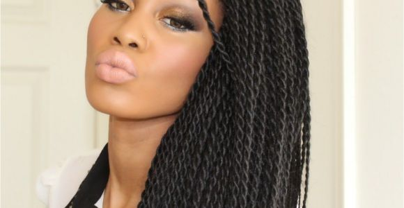 Rope Braids Black Hairstyles Senegalese Twist Braids Medium Size Google Search