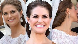 Royal Wedding Hairstyles the Hair and Make Up Looks From the Swedish Royal Wedding