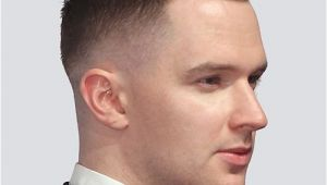 Self Haircut Men Low Fade with A Side Part Hair