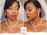 Senegalese Twist Wedding Hairstyles Bridal Beauty Black Natural Hair Bride Senegalese Twist