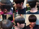 Sew In Weave Hairstyles Videos Partial Sew In with Hair Left Out at the Crown the Rose Affect