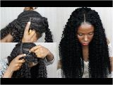 Sew In Weave Hairstyles Youtube I Will Be Trying This New Technique No Sew In Weave No Leave Out