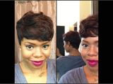 Sew In Weave Hairstyles Youtube Short and Sassy Custom 27 Piece Wig