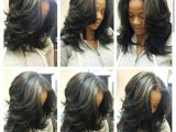 Sew In Weave Layered Hairstyles Instagram Photo by Hairartbydominique Dominique Evans