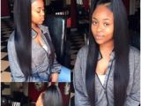 Sew In Weave Natural Hairstyles 3 Part Sew In
