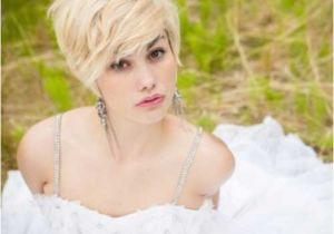 Short Blonde Wedding Hairstyles 10 Super Short Bridal Hairstyles