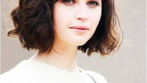 Short Bob Haircuts for Thick Wavy Hair 15 Messy Bob with Bangs