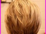 Short Bob Haircuts From the Back View Back View Of Short Hairstyles Stacked Livesstar