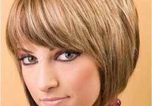 Short Bob Haircuts with Bangs and Layers Short Layered Bobs with Bangs