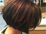Short Brown Bob Haircuts Thick Brown Bobs