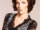 Short Curly Bob Haircuts with Bangs 20 Best Short Curly Hairstyles 2014