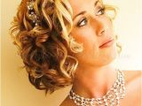 Short Curly Hairstyles for Weddings 55 Stunning Wedding Hairstyles for Short Hair 2016