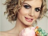 Short Curly Hairstyles for Weddings Wedding Hairstyles for Short Curly Hair