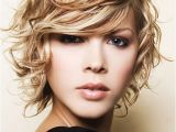 Short Curly Hairstyles for Women with Round Faces Short Curly Hair that Looks Great with A Round Face