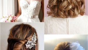 Short Hair Half Up Half Down Hairstyles for Weddings 9 Short Wedding Hairstyles for Brides with Short Hair