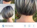Short Hairstyles 2019 Highlights New Bob Grey Hair Picks In 2019 Pinterest