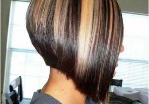 Short Hairstyles Chunky Highlights 15 Aline Bob Haircuts Bob Hairstyles