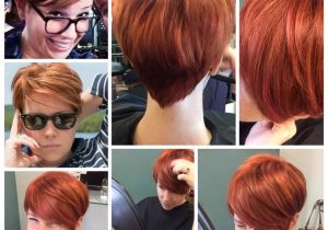 Short Hairstyles Growing Out Pixie Pixie Back View Red orange Ginger Growing Out A Pixie Short