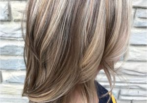 Short Hairstyles with Highlights 2019 Light Brown Hair with Blonde Highlights and Lowlights