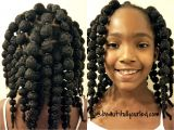 Short Mixed Girl Hairstyles Cute and Easy Hair Puff Balls Hairstyle for Little Girls to