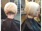 Short Nape Bob Haircut Videos Inverted Bob with A Clippered Nape