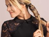 Side Braid Hairstyles with Weave Fishtail Braid Tutorial 4 Ways to Wear This Beloved