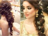 Side Curls Hairstyles for Wedding 60 Traditional Indian Bridal Hairstyles for Your Wedding
