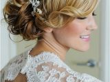 Side Swept Updo Hairstyles for Weddings Side Swept Wedding Hair