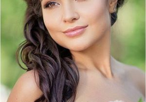 Side Swept Wedding Hairstyles for Long Hair 40 Gorgeous Side Swept Wedding Hairstyles