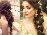 Side Swept Wedding Hairstyles for Long Hair 60 Traditional Indian Bridal Hairstyles for Your Wedding
