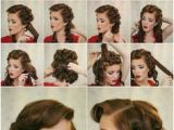 Simple 1950s Hairstyles 12 Best 1950s Hairstyles for Long Hair Images On Pinterest