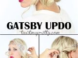 Simple 30s Hairstyles 2 Gorgeous Gatsby Hairstyles for Halloween or A Wedding