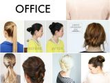 Simple and Easy Hairstyles for Office 12 Easy Updos for the Fice