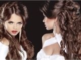 Simple and Easy Hairstyles for Party Easy Curly Hairstyles for Summer Party
