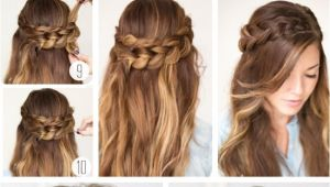 Simple and Easy Hairstyles for Party Party Hairstyles for Long Hair Using Step by Step Easy