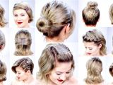 Simple and Easy Hairstyles for Short Hair On Dailymotion Easy Hairstyles Dailymotion In Urdu Bun Hairstyles for Short Hair