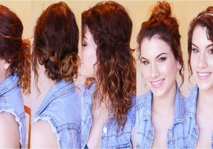 Simple Curly Hairstyles for School for School Quick Easy Hairstyles Wavy Hair Image