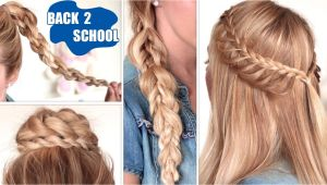 Simple Easy Hairstyles for Long Hair for School Quick and Easy Hairstyles for School for Long Hair