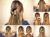 Simple Eid Hairstyles Easy Hairstyles for School Step by Step Fashionglint Latest Simple