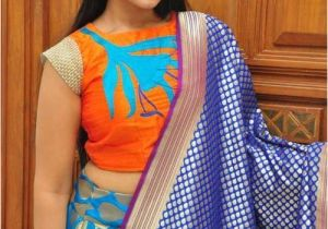 Simple Engagement Hairstyles Pic Of Puff Hairstyle for Ghagra Choli