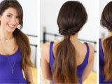 Simple Goddess Hairstyles Quick and Effortless Ponytail Hairstyle with Luxy Hair Extensions