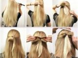 Simple Hairstyles Bow 118 Best Easy Hairstyles for Long Hair Images